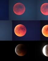 planche de l'éclipse du 15 juin 2011