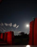 Nuages sous clair de Lune