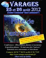 Fête de l'astronomie 2012